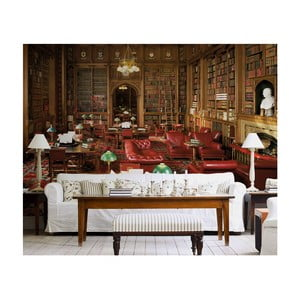 Veľkoformátová tapeta Stará knižnica, 315x232 cm