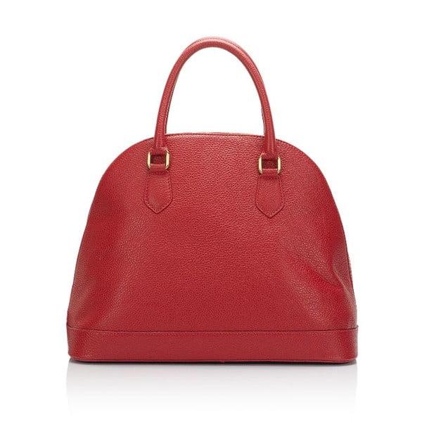 Kožená kabelka Markese 5010 Rosso