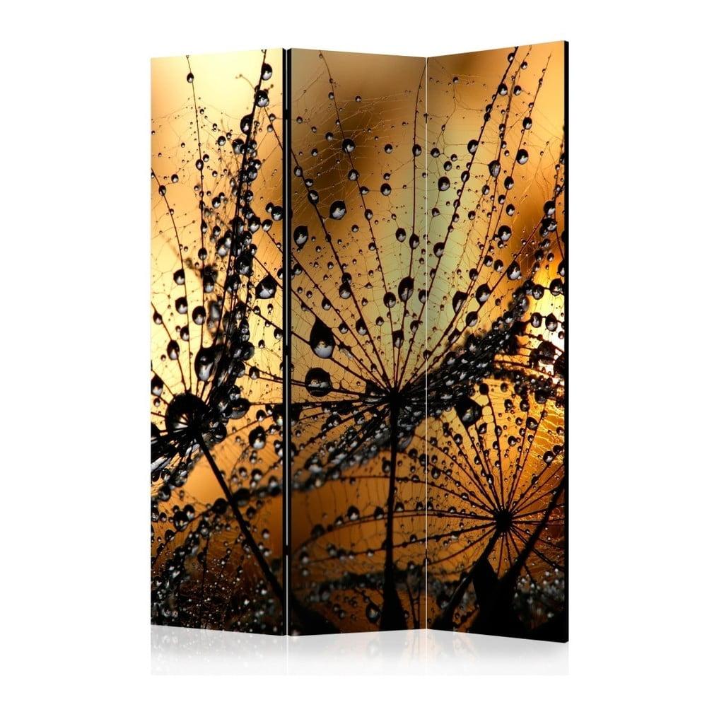 Paraván Artgeist Dusk Dandelions, 135 × 172 cm