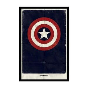 Plagát Captain Star, 35x30 cm