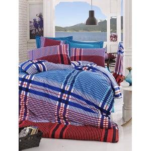 Obliečky s plachtou Ekosa Blue, 200x220 cm