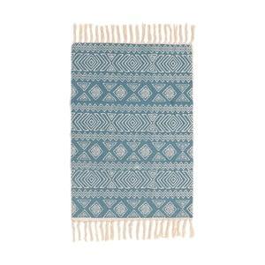 Modrý koberec InArt Nadar, 90×60cm