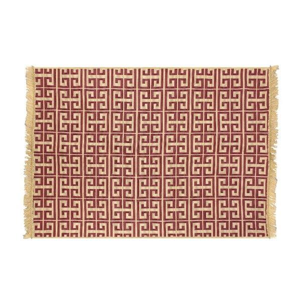 Červeno-béžový koberec Ya Rugs Tee, 120x180cm