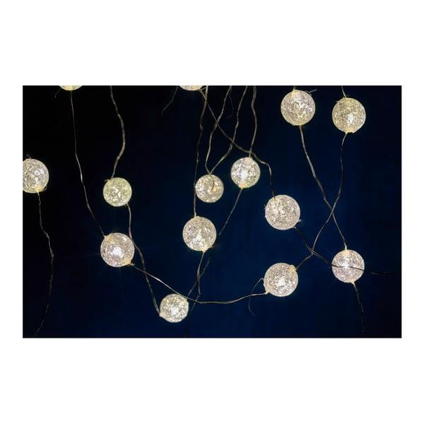 Svetelná LED reťaz Villa Collection Frozen, 40 svetielok