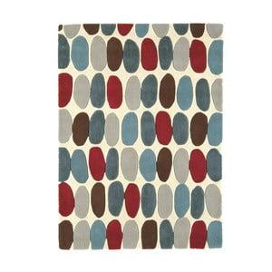 Vlnený koberec Sofia Red Teal 160x230 cm