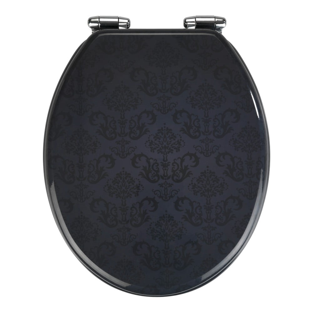 WC sedadlo s jednoduchým zatváraním Wenko Bellevue, 43 × 37 cm