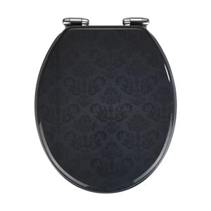 WC sedadlo s jednoduchým zatváraním Wenko Bellevue, 43 x 37 cm