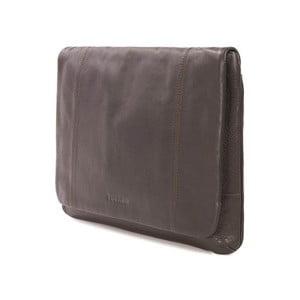 Hnedá taška na rameno z talianskej kože Tucano One