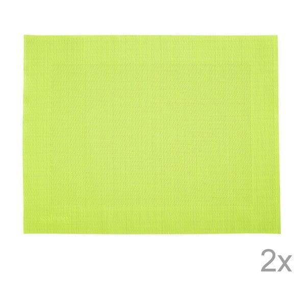 Sada 2 prestieraní Saleen Green, 30x40 cm
