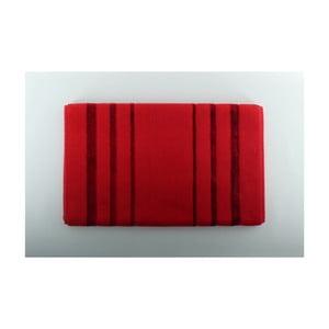 Červená kúpeľňová predložka U.S. Polo Assn. Charleston, 60 x 100 cm