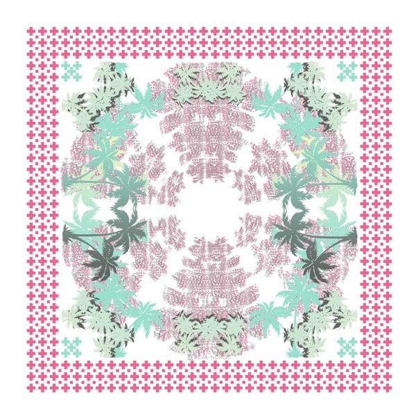 Šatka Pammy Pink, 130x130 cm