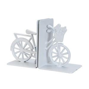 Zarážky na knihy Bicyckle, biele