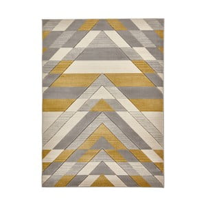 Žltobéžový koberec Think Rugs Pembroke, 160 x 220 cm