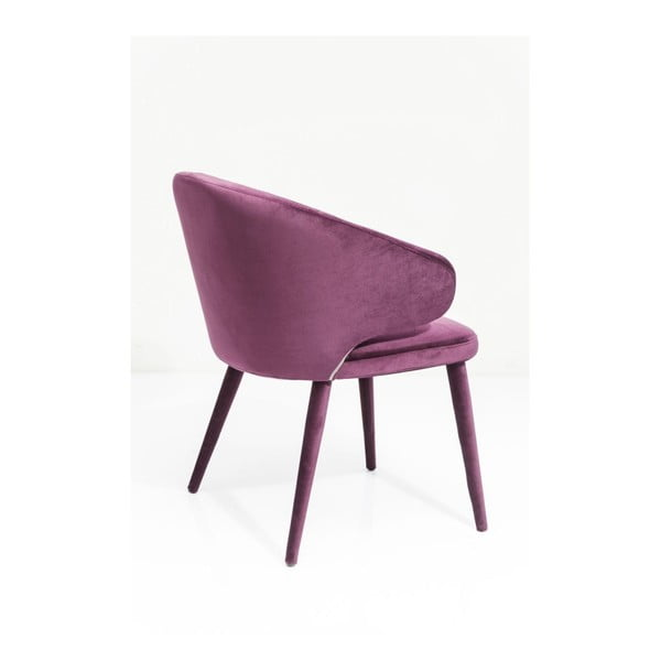 Fialová stolička Kare Design Purple Rain
