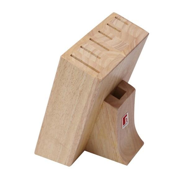 Drevený blok na nože Bergner Teka