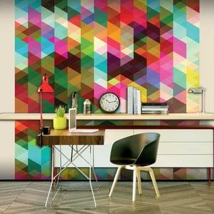 Veľkoformátová tapeta Artgeist Colourful Geometry, 300x231cm