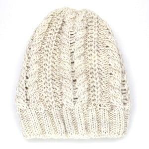 Dámska čiapka Amelia, krémová