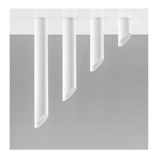 Biele stropné svetlo Nice Lamps Nixon, dĺžka 40 cm