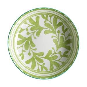 Sada 6 polievkových tanierov Culinary Delight Plant, ⌀21 cm
