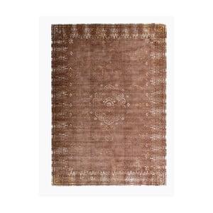 Hnedý koberec s prímesou bavlny Cotex Epoca, 140 × 200 cm