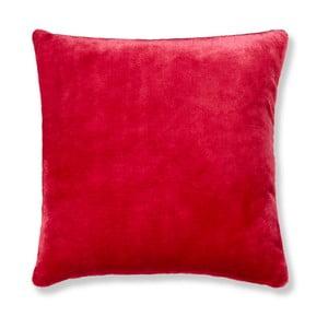 Červená obliečka na vankúš Catherine Lansfield Basic Cuddly, 55×55 cm