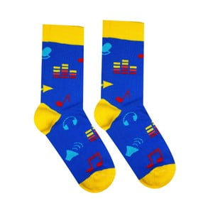 Bavlnené ponožky Hesty Socks Hudebník, vel. 35-38