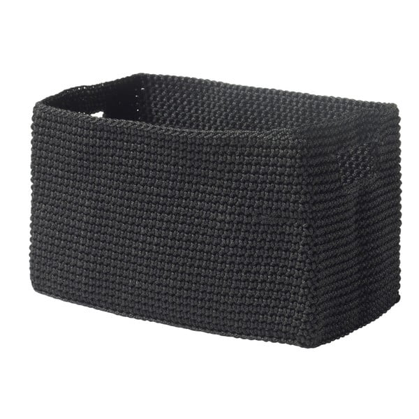 Košík Confetti Black, 22 cm