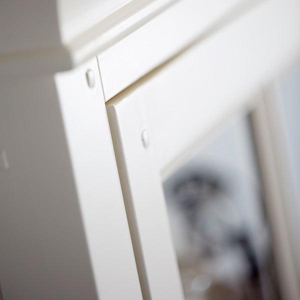 Biela presklnenená stena Canett Skagen Tower, 1 zásuvka