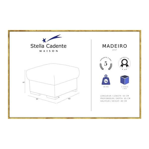 Antracitová podnožka Stella Cadente Maison Madeiro