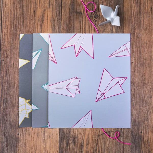Baliaci papier Mixed Origami, 3 listy