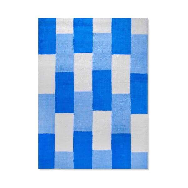 Detský koberec Mavis Blue Lines, 100x150 cm