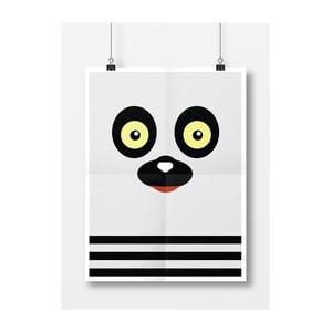 Plagát Lemur, A4