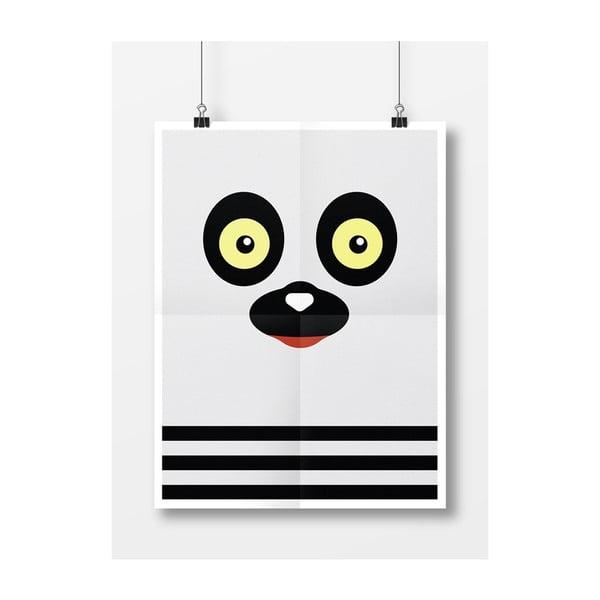 Plagát Lemur, A3