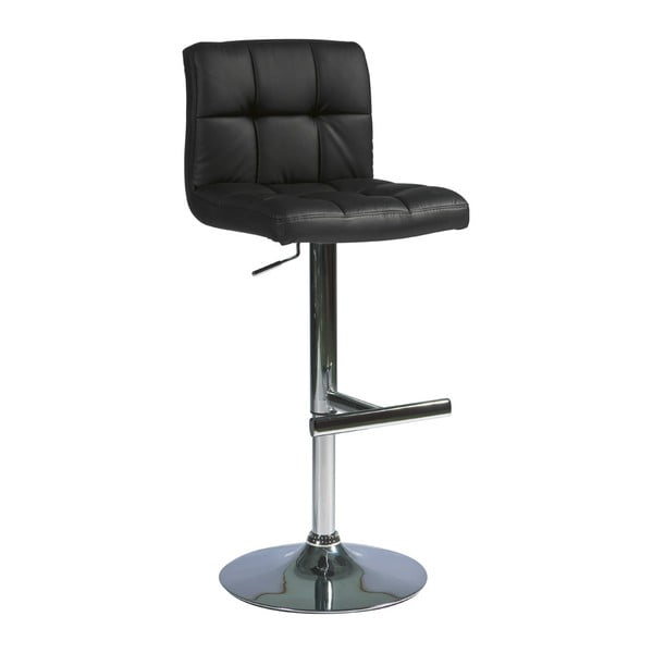 Barová stolička C105, čierna