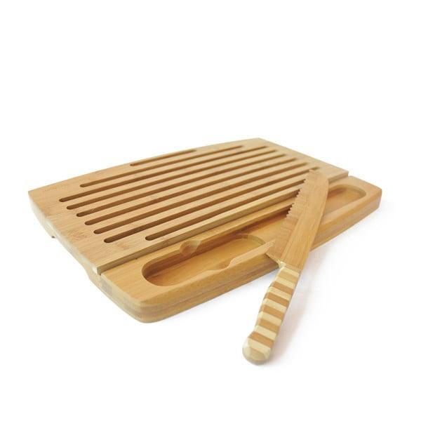 Bambusové doska na krájanie chleba Pank