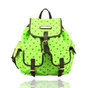 Batoh Anna Smith A7082YD Green Polka Dot