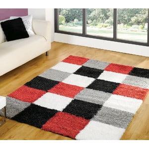 Červený koberec Andes, 120x170cm