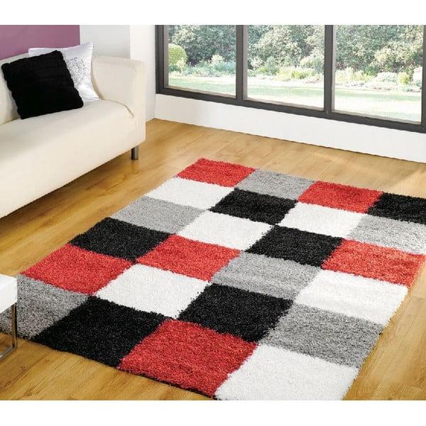 Červený koberec Flair Rugs Andes, 160x230cm