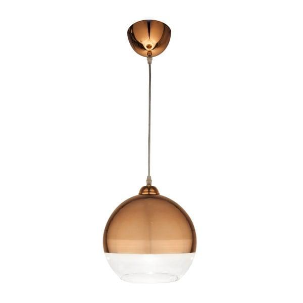 Závesné svietidlo Scan Lamps Lux Copper, ⌀25cm