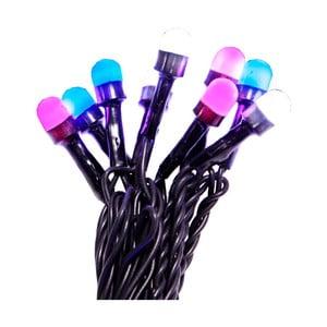 Viacfarebná svetelná reťaz Beads