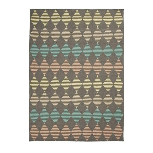 Ručne tkaný vlnený koberec Linie Design Stone, 140x200cm