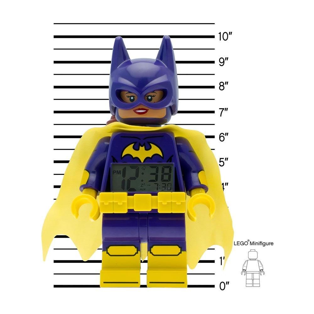 Hodiny s budíkom LEGO® Batman Movie Batgirl ... 0d831fbd499
