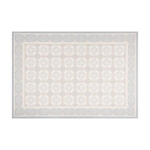 Sivý vinylový koberec Zala Living Aurelie,195×120cm