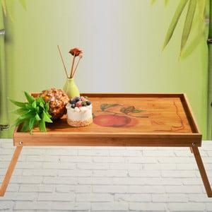 Bambusová tácka do postele Flip