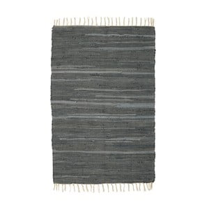 Sivý vzorovaný koberec A Simple Mess Mille, 90×60cm