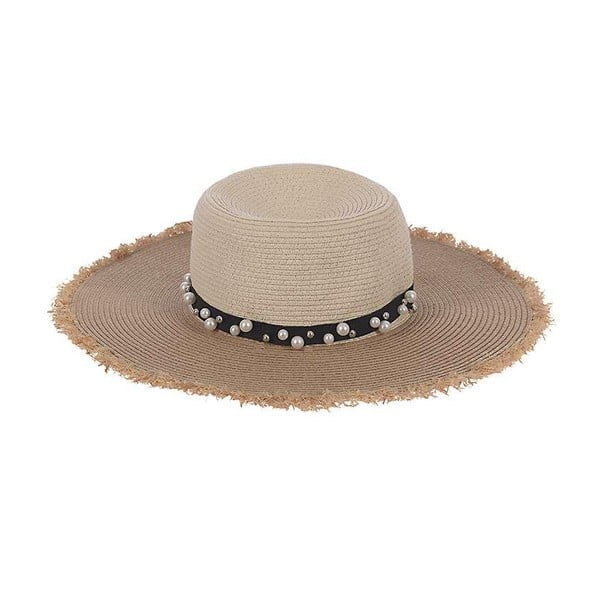 Slamený klobúk Beige Natural