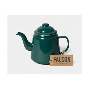 Zelená smaltovaná čajová konvička Falcon Enamelware,1l