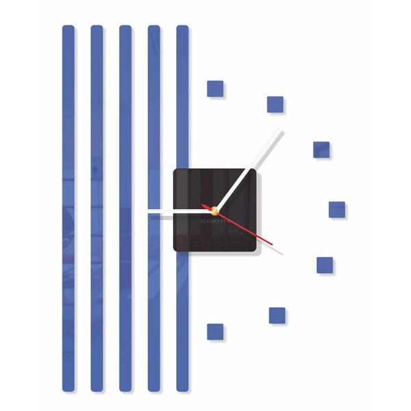 Hodiny z plexiskla Points Blue