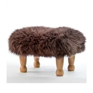 Stolička z ovčej kože Angharad Mink