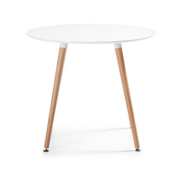 Jedálenský stôl z bukového dreva La Forma Daw, 73 x 100 cm